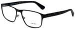 Prada Designer Eyeglasses VPR56S-LAH1O1 in Matte Brown 53mm :: Rx Single Vision
