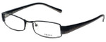 Prada Designer Eyeglasses VPR53H-7651O1 in Opaque Black 52mm :: Rx Bi-Focal