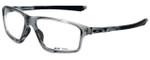 Oakley Designer Eyeglasses Crosslink ZeroOX8076-0458 in Grey Shadow 58mm :: Custom Left & Right Lens