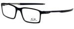 Oakley Designer Eyeglasses Steel LinesOX8097-0152-52 in Satin Black 52mm :: Custom Left & Right Lens
