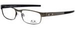 Oakley Designer Eyeglasses Carbon PlateOX5079-0255 in Gunmetal 55mm :: Rx Single Vision