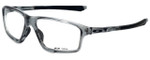 Oakley Designer Reading Glasses Crosslink ZeroOX8076-0458 in Grey Shadow 58mm