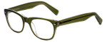 Eyefly Designer Eyeglasses Mensah-Jomo-Street in Olive 50mm :: Custom Left & Right Lens