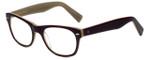 Eyefly Designer Eyeglasses Mensah-Jomo-Street in Eggplant 50mm :: Custom Left & Right Lens