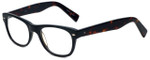Eyefly Designer Eyeglasses Mensah-Jomo-Street in Black 50mm :: Rx Single Vision
