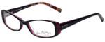 Vera Bradley Designer Eyeglasses 3001-PLM in Piccadilly Plum 51mm :: Custom Left & Right Lens
