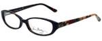 Vera Bradley Designer Eyeglasses Addison-MRG in Mocha Rouge 53mm :: Rx Bi-Focal
