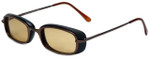 Woolrich Plateau Designer Sunglasses in Mocha with Brown Lens