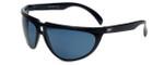 Ion 528 Designer Sunglasses in Black with Grey Lens