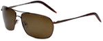 Carrera Overdrive Polarized Sunglasses in Bronze with Amber Lens