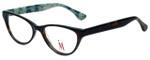 Isaac Mizrahi Designer Eyeglasses M110-02 in Tortoise Green 52mm :: Custom Left & Right Lens