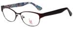 Isaac Mizrahi Designer Eyeglasses M109-02 in Brown 52mm :: Rx Single Vision