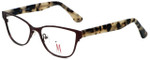 Isaac Mizrahi Designer Eyeglasses M106-02 in Brown 52mm :: Progressive