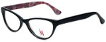 Isaac Mizrahi Designer Eyeglasses M110-01 in Black Pink 52mm :: Rx Bi-Focal