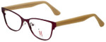 Isaac Mizrahi Designer Reading Glasses M106-07 in Purple 52mm