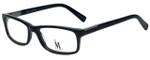 Isaac Mizrahi Designer Eyeglasses M500-01 in Black 54mm :: Custom Left & Right Lens