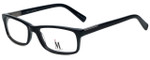 Isaac Mizrahi Designer Eyeglasses M500-01 in Black 54mm :: Progressive