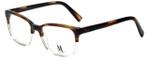 Isaac Mizrahi Designer Reading Glasses M501-22 in Tortroise Crystal 53mm
