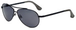 Isaac Mizrahi Designer Sunglasses IM16-10 in Black with Grey Lens
