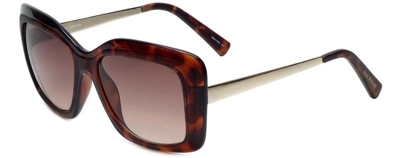 23372679c9410 Isaac Mizrahi Designer Sunglasses IM230-21 in Tortoise with Brown Lens.  Image 1