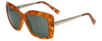 Isaac Mizrahi Designer Sunglasses IM230-26 in Honey Tortoise with Grey Lens