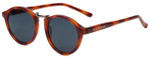 Isaac Mizrahi Designer Sunglasses IM89-25 in Honey Tortoise with Grey Lens