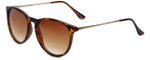 Isaac Mizrahi Designer Sunglasses IMM103-21 in Tortoise with Brown Lens