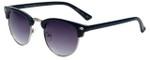 Isaac Mizrahi Designer Sunglasses IMM106-92 in Navy with Purple Lens