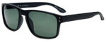 Isaac Mizrahi Designer Sunglasses IMM108-10 in Matte Black with Grey Lens