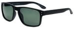 Isaac Mizrahi Designer Sunglasses IMM108-10 in Matte Black with Grey Lens