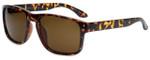Isaac Mizrahi Designer Sunglasses IMM108-21 in Tortoise with Brown Lens