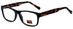Gotham Style Designer Eyeglasses GF29-MBLK in Matte Black 53mm :: Custom Left & Right Lens