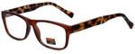Gotham Style Designer Eyeglasses GSF29-MBRN in Matte Brown 53mm :: Custom Left & Right Lens