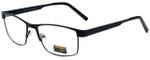 Gotham Style Designer Eyeglasses GS11-BLK in Black 59mm :: Rx Single Vision