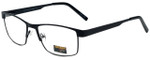 Gotham Style Designer Eyeglasses GS11-BLK in Black 59mm :: Progressive
