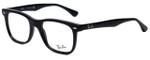 Ray-Ban Designer Eyeglasses RB5248-2000 in Black 49mm :: Custom Left & Right Lens