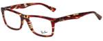 Ray-Ban Designer Eyeglasses RB5287-5710 in Tortoise 52mm :: Custom Left & Right Lens