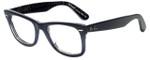 Ray-Ban Designer Eyeglasses RB2140-1203-68 in Dark Blue 50mm :: Rx Single Vision