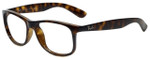 Ray-Ban Designer Eyeglasses RB4202-710-6S in Shiny Havana 55mm :: Rx Single Vision