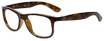 Ray-Ban Designer Eyeglasses RB4202-710-Y4 in Tortoise 55mm :: Rx Single Vision