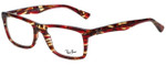 Ray-Ban Designer Eyeglasses RB5287-5710 in Tortoise 52mm :: Progressive