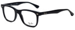 Ray-Ban Designer Eyeglasses RB5248-2000 in Black 49mm :: Rx Bi-Focal
