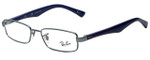 Ray-Ban Designer Eyeglasses RB6192-2507 in Blue 50mm :: Custom Left & Right Lens