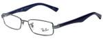 Ray-Ban Designer Eyeglasses RB6192-2507 in Blue 50mm :: Rx Single Vision