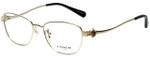 Coach Designer Eyeglasses HC5086-9291 in Light Gold 52mm :: Custom Left & Right Lens