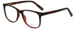 Metro Designer Eyeglasses Metro-35-Tort in Dark Tortoise Matte 53mm :: Progressive