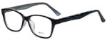 Metro Designer Eyeglasses Metro-23-Black in Black 47mm :: Rx Bi-Focal