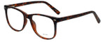 Metro Designer Reading Glasses Metro-35-Tort in Dark Tortoise Matte 53mm
