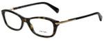 Prada Designer Eyeglasses VPR04P-2AU1O1 in Dark Havana 52mm :: Custom Left & Right Lens