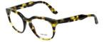 Prada Designer Eyeglasses Prada JournalVPR13S-UBN1O1 in Tortoise Lime Havana 48mm :: Custom Left & Right Lens